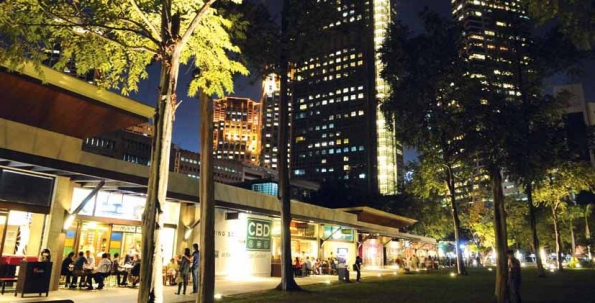 Ayala Triangle Gardens, a unique outdoor community experience