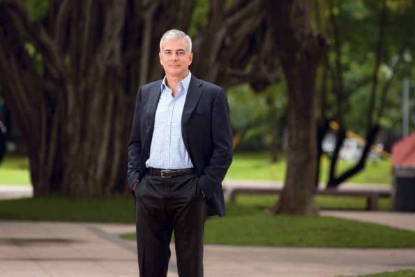 Fernando Zobel de Ayala, Ayala Corporation President and COO