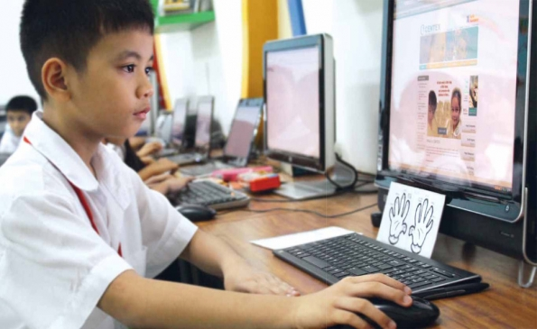 Innovative Ict Classroom ~ Ayala sustainability globe enables access to education